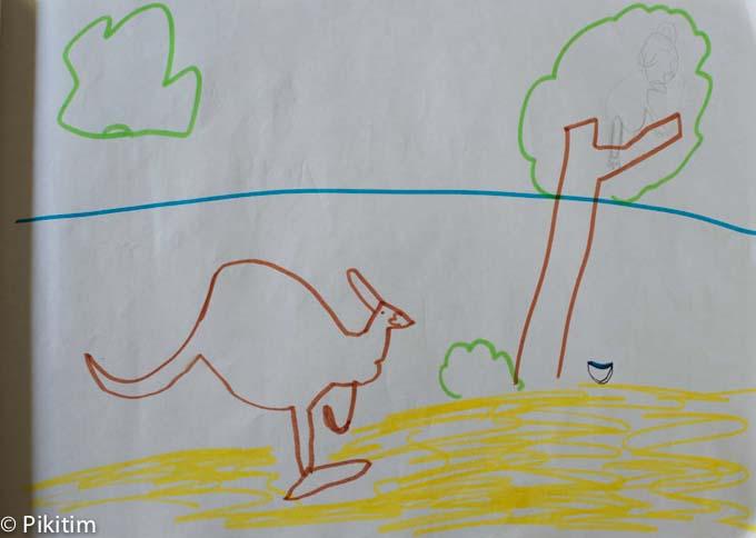 O canguru na Australia-1