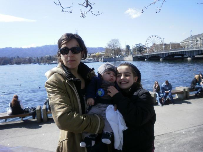 Viagem com os filhos Zurique