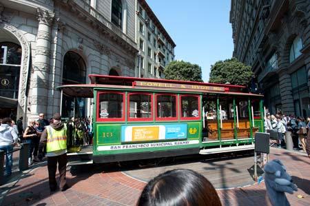 Carro elétrico em São Francisco