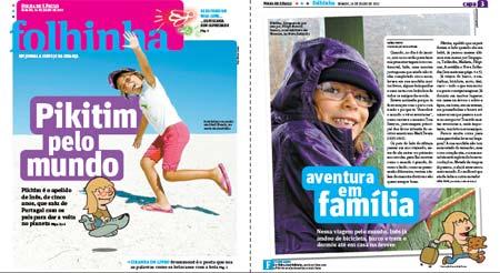 Folhinha, jornal Folha de São Paulo