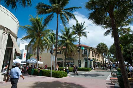 Lincoln Road, em South Beach
