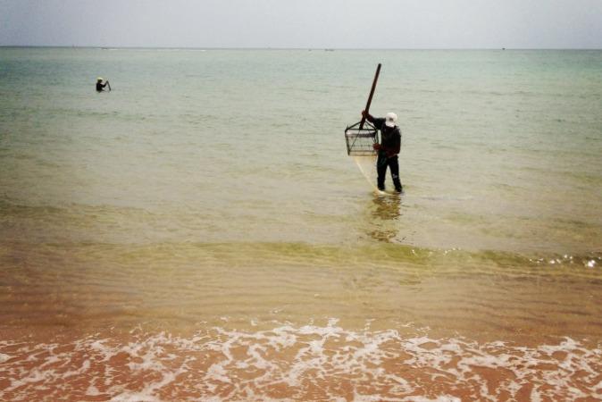 pescadores conquilhas