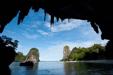 Praia de Railay,  Tailândia