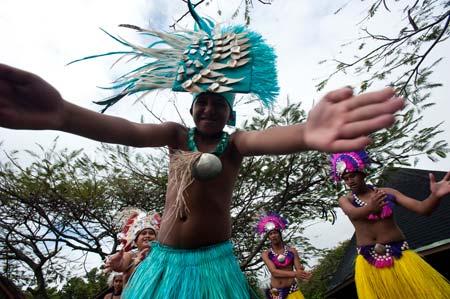 Show de música e dança em Avarua, Rarotonga