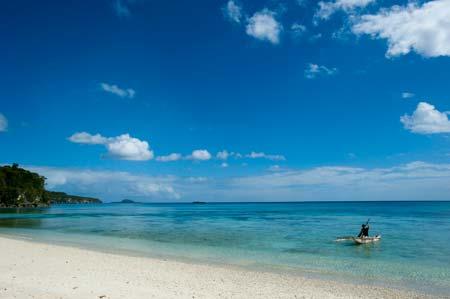 A belíssima praia do Survivor